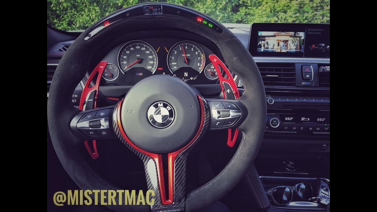 BMW M Performance Electronic Steering Wheel 2017 F82 M4 ...