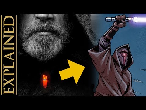 Who Were the Jedi Crusaders - Luke's Pendant Explained