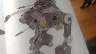 Лего звездные войны танк