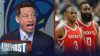 Chris Broussard reacts to Harden, CP3 leading Houston Rockets epic Game 4 win | FIRST THINGS FIRST