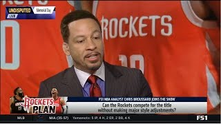 UNDISPUTED | Chris Broussard SHOCKED Russell Westbrook trade grades: Who wins this blockbuster deal?