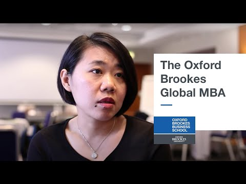 The Oxford Brookes Global MBA
