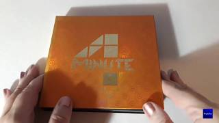 4Minute 포미닛 - 4Minute Left (The First Album) UNBOXING