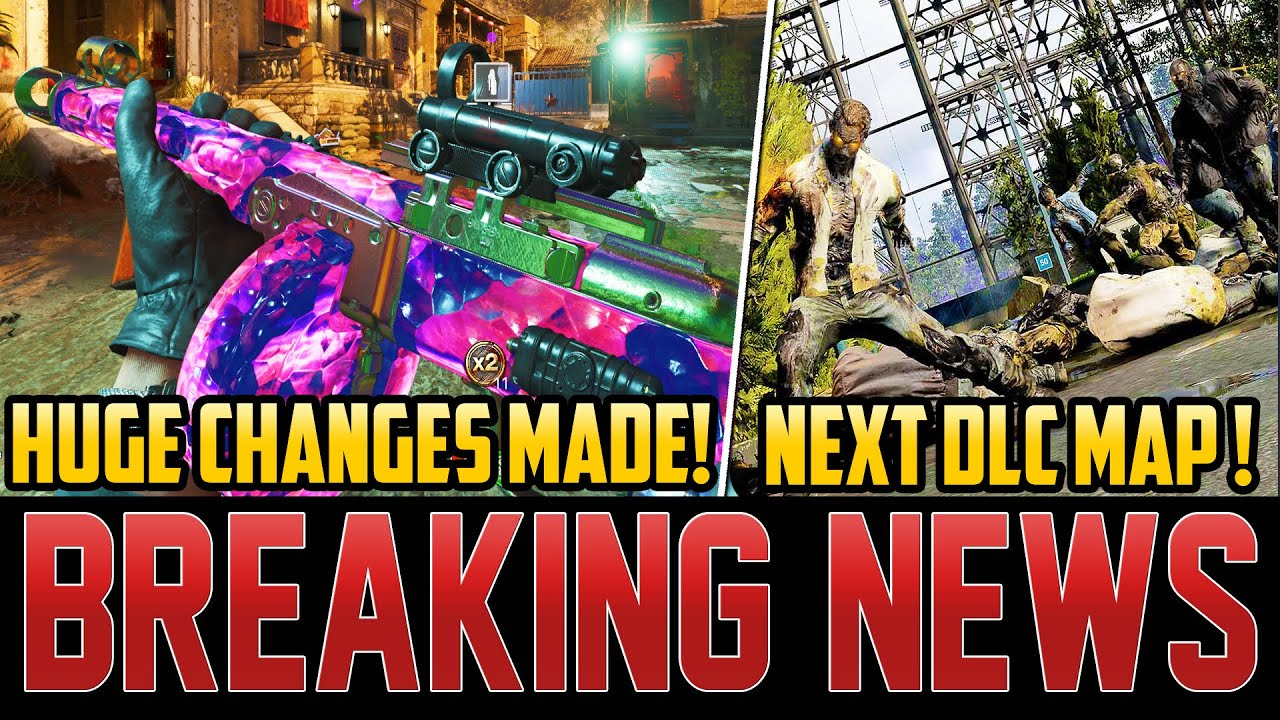 HUGE ZOMBIES CHANGES MADE – MAJOR NERFS - NEW EASTER EGG RELEASE TIME! (Cold War Zombies)
