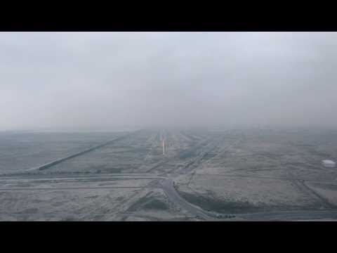 Landing in Kuwait International Airport  19 January 2014