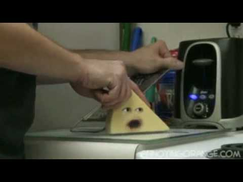 La naranja molesta \' episodio con el queso \' ( ESPAÑOL )