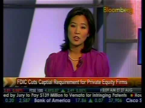 FDIC Cuts Requirements For Private Equity Firms - Bloomberg
