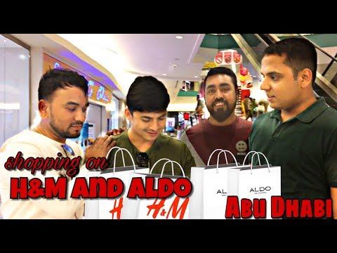 Shopping in Abu Dhabi (H&M and Aldo) || 2017 ||