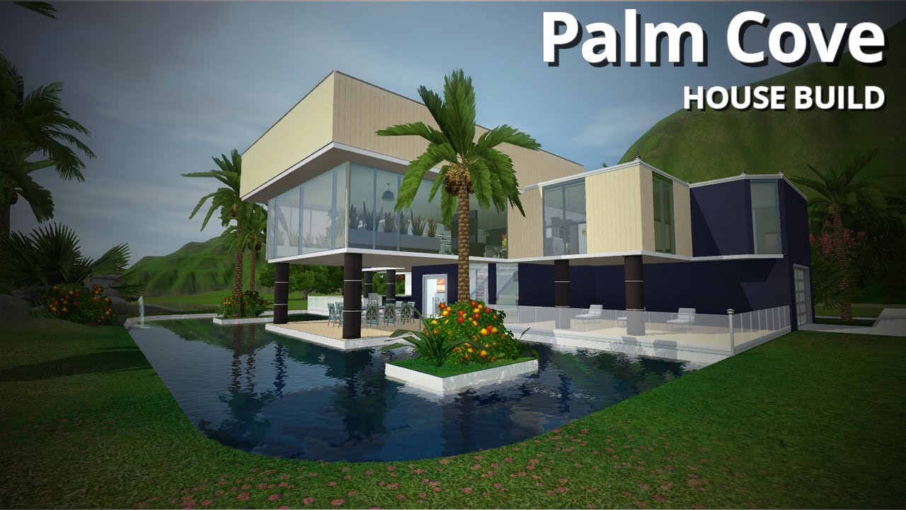 The Sims 3 House Building Palm Cove W Simified Youtube