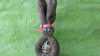 Видео урок пасхальный кролик, coelhinho da Páscoa.