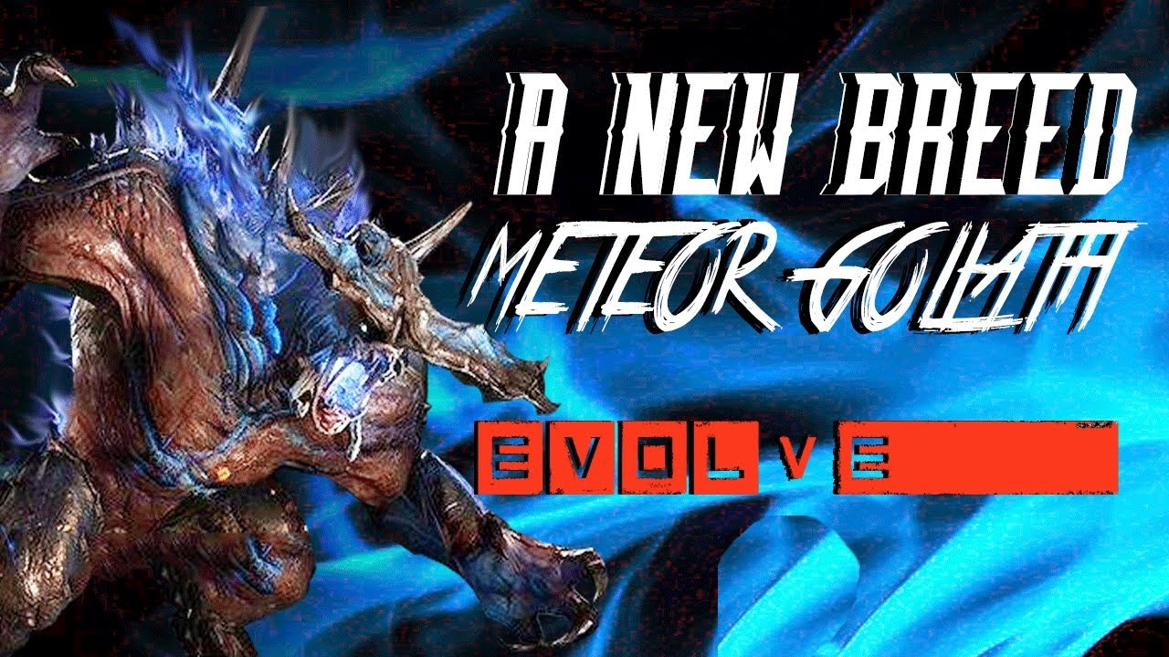 影子實況 惡靈進化 Evolve [遇到隕石哥利亞 Meteor Goliath] - YouTube