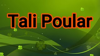 Tali Poular-By Koolo Hinde TV
