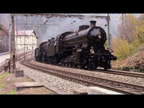 Treni a Vapore sul Gottardo  : Dampfzüge am Gotthard