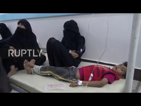 Yemen: Sanaa hospitals continue to struggle with numerous cholera cases