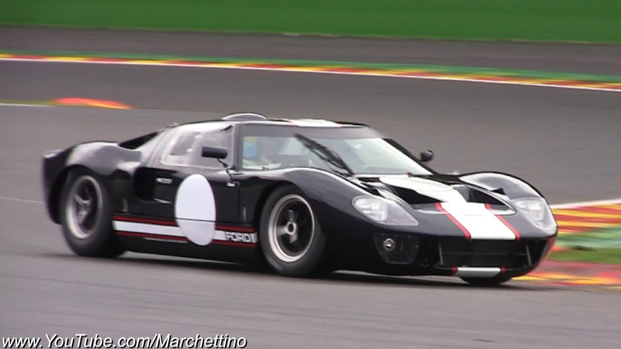Ford Gt40 Mk2 Glorious Engine Sound Youtube