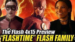 The Flash 4x15 Preview - JESSE QUICK VUELVE ¿Qué es FLASHTIME?