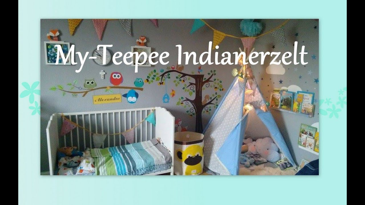 tippi zelt myteepee kinderzimmer dekoideen familybook. Black Bedroom Furniture Sets. Home Design Ideas