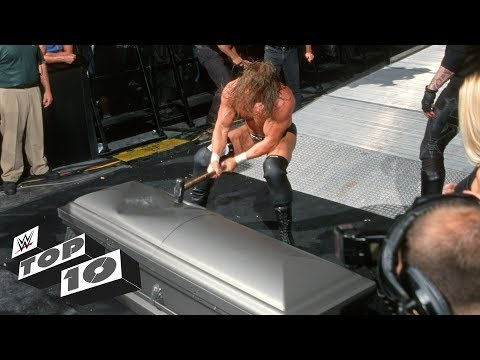 Trapped Superstars Getting Smashed: WWE Top 10, Sept. 17, 2018