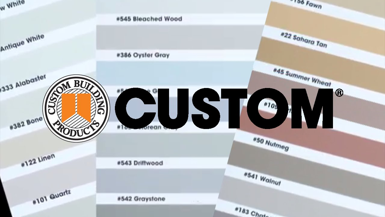 Top CUSTOM Grout Color Updates for Tile and Stone - YouTube LL31