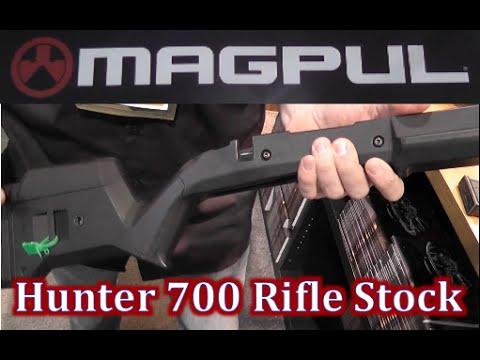 New Magpul Hunter 700 Rifle Stock Review at Shot Show 2015