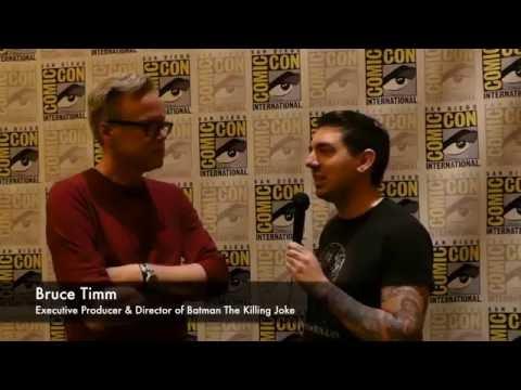 Batman The Killing Joke SDCC 2016 Interview Bruce Timm, Sam Liu & Brian Azzarello