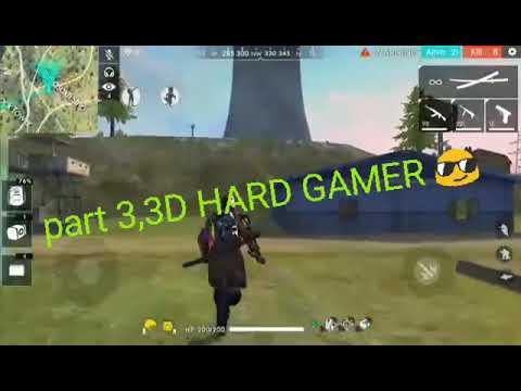 Free Fire On 3d HARD GAMER 😎