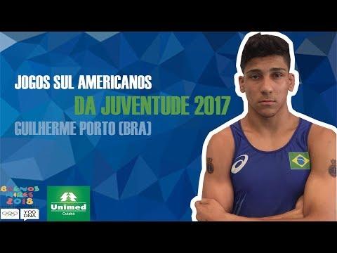 Jogos Sul Americanos da Juventude  Guilherme Porto BRA 58KG