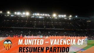 VALENCIA CF | RESUMEN MANCHESTER UNITED - VALENCIA CF (0-0)