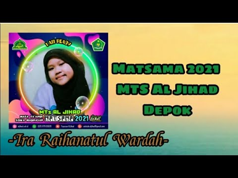 Peserta Matsama MTs Al-Jihad 2021