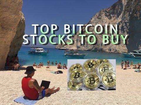 Top Bitcoin Stocks To Buy After Bitcoin Broke $5,000