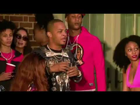 T.I ENDS THE POOL PARTY AFTER YONATHAN TREATS THE B**TY LIKE GROCERIES 😂😂😂