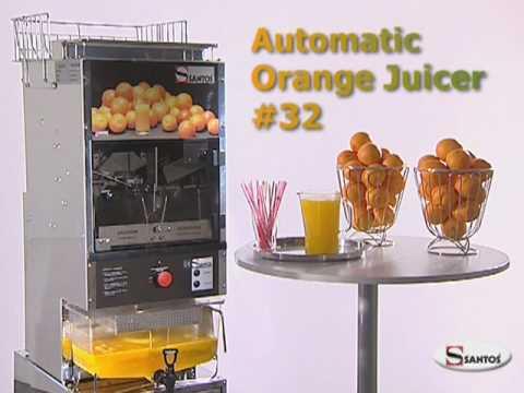 SANTOS Presse Oranges Automatique 32 - FR