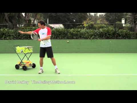 Tennis Tips Part two from The Bailey Method with David Bail