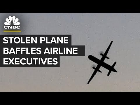 'Incredible Maneuvers' By Employee Who Stole Plane Baffles Employer | CNBC