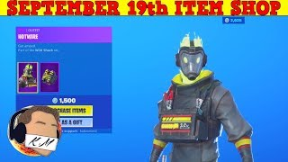 Fortnite Item Shop (September 19th) | *NEW* HOTWIRE SKIN!