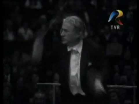 George Enescu - Rapsodia Română (1978), dirijor Sergiu Celibidache