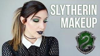 Slytherin Eye Makeup Tutorial || KELLI MARISSA