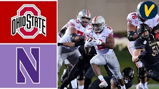 #4 Ohio State vs Northwestern Highlights | Week 8 | College Football Highlights | 2019