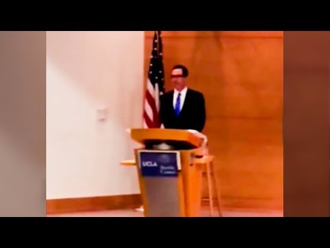 Steve Mnuchin Is Trying To Bury This Video Of Him Being Heckled