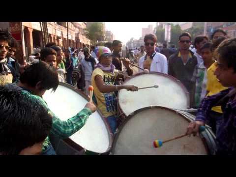 Muharram Jaipur 2013.Dhol-Tashe Matam.Ghat Gate.1.