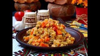 Тушёные овощи с чечевицей