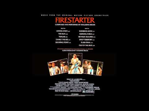 Tangerine Dream - Firestarter ''Crystal Voice'' (Unreleased Film Version, Stereo 32 Bits Remastered)