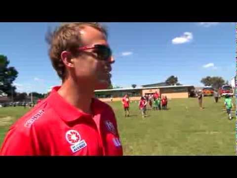 Melbourne Heart kick off Fire Action Week