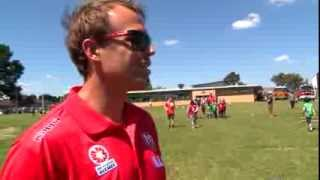 Melbourne Heart kick off Fire Action Week