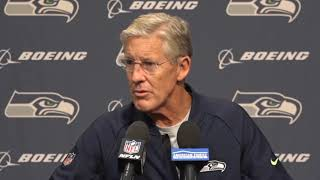 Pete Carroll on Earl Thomas Middle Finger 2018-10-01