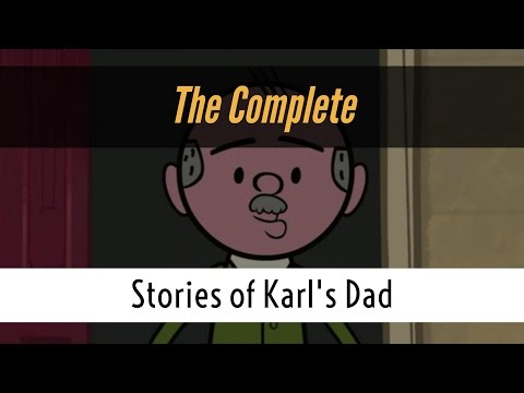 """The Complete """"Stories of Karl's Dad"""" (A compilation with Karl Pilkington, Ricky Gervais, Merchant)"""