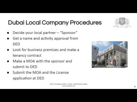Dubai Company Register | How To Get A Business License In Dubai