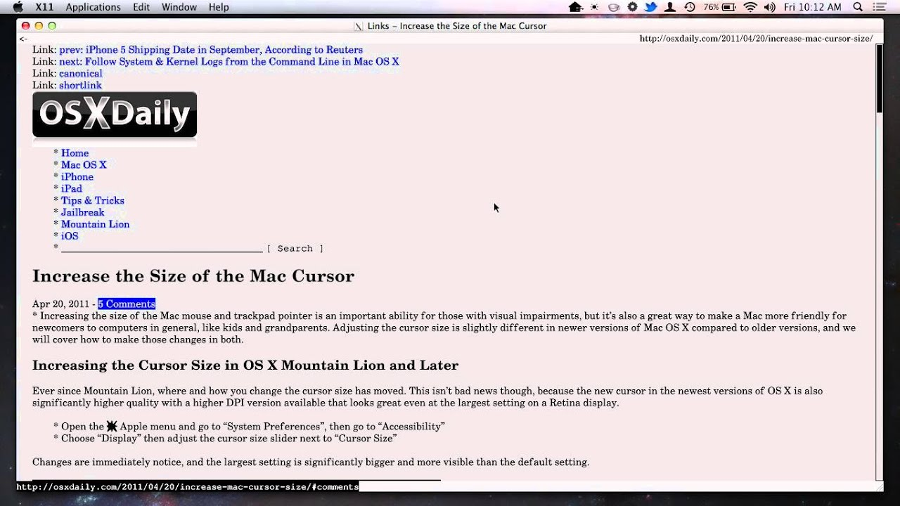 Use Lynx Browser with Image Support in X11 for Fast Low