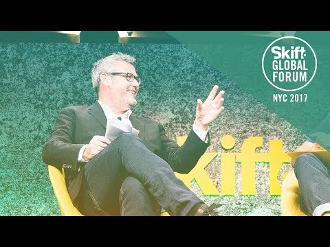 Facebook Chief Creative Officer Mark D'Arcy at Skift Global Forum 2017