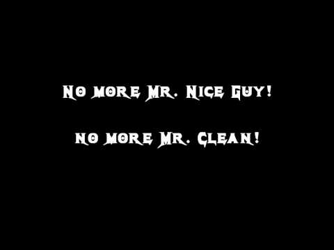 Megadeth -  No More Mr. Nice Guy Lyrics
